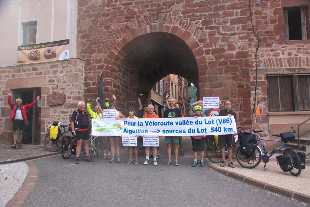 Villecomtal, randonnée V86