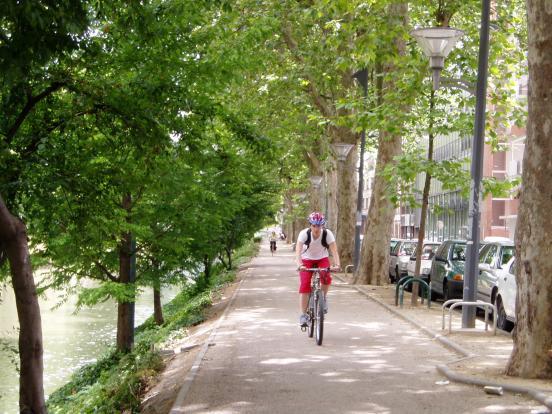 Vers la gare de Toulouse