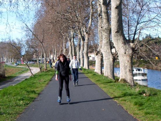 Le long du canal