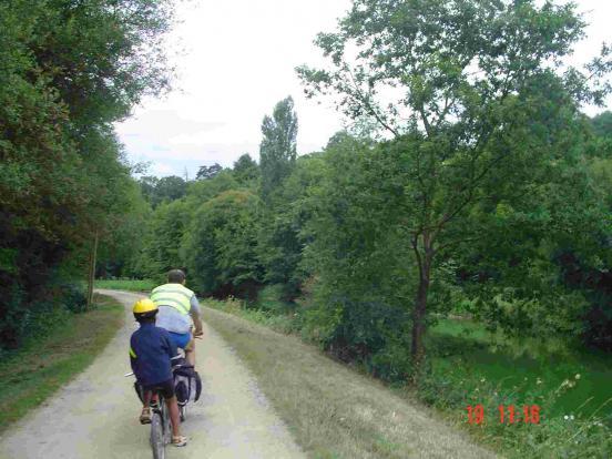 Halage de la Mayenne