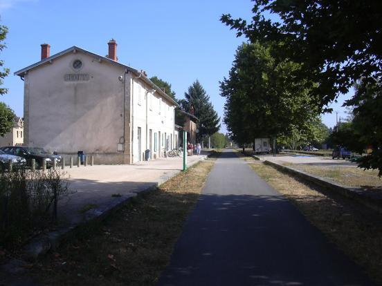 Ancienne gare de Cluny