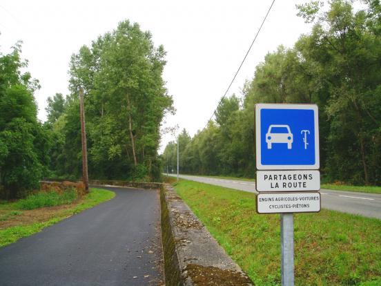 Itinéraire partagé