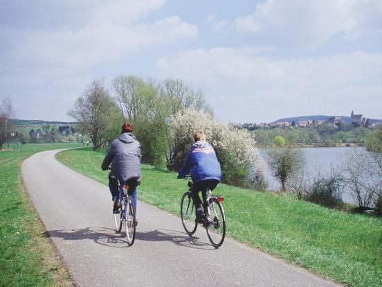 2 cyclistes