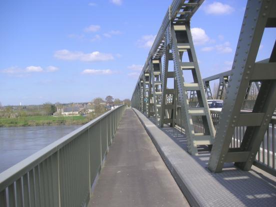 Passerelle à Chalonnes-sur-Loire