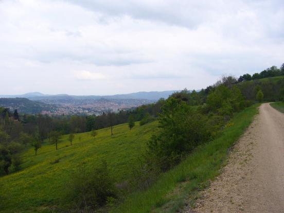 vue sur le Puy en Velay