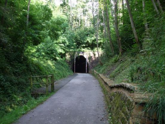 L'entrée du tunel