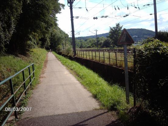 La Moselle à Apach