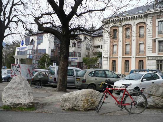 Grenoble départ voies v
