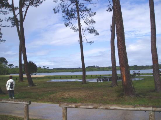 Lac de Parentis
