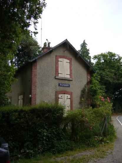 Gare d'Augan