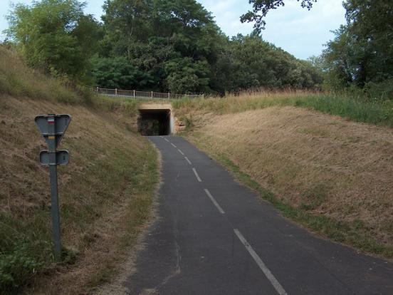 Pont sous la D704