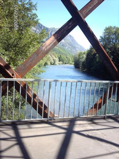 Pont sur la Gave