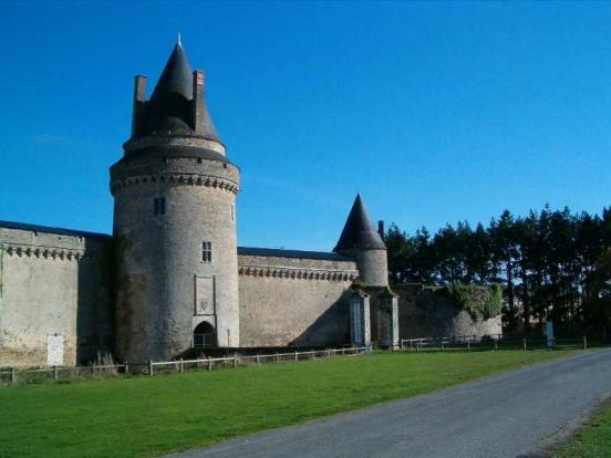 Le château de Blain