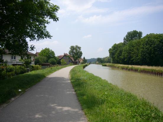 Canal du Rhone au Rhin