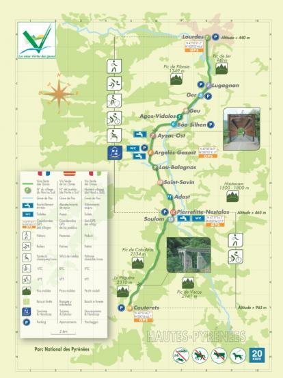 Plan de la voie verte