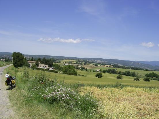 Au sud de Forcalquier