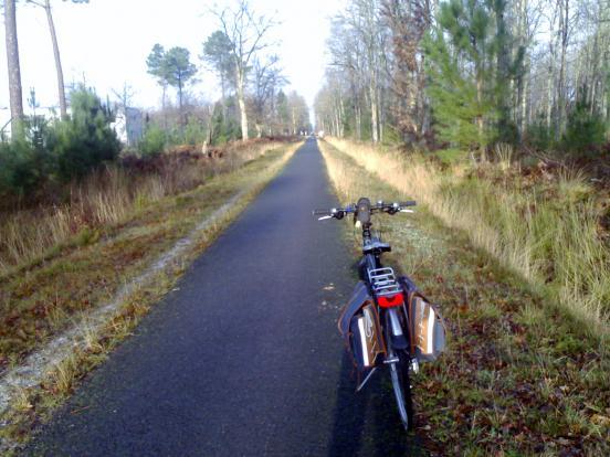 A vélo vers Lacanau