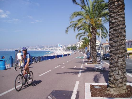 Arrivée au port de Nice