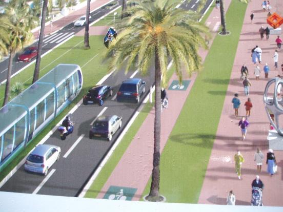 Tramway - détail