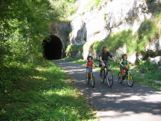 tunnel de train