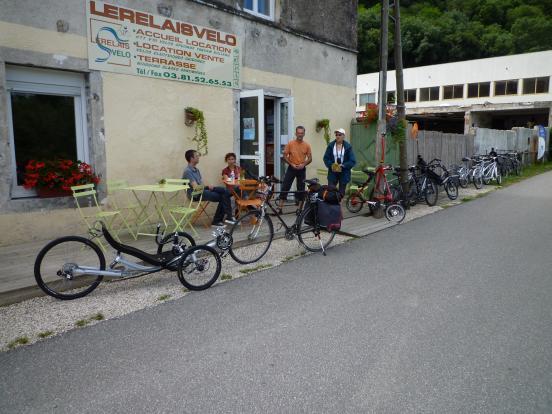 Relais vélo de Besancon
