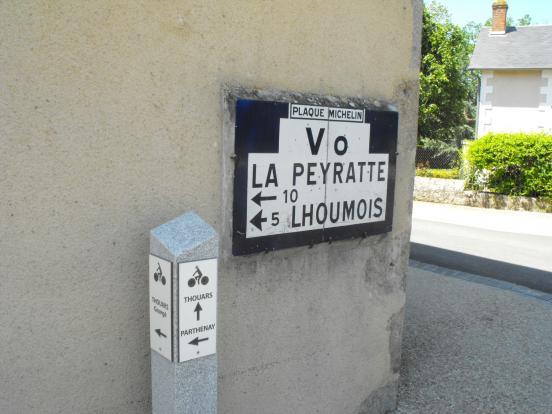 Panneaux à Gourgé