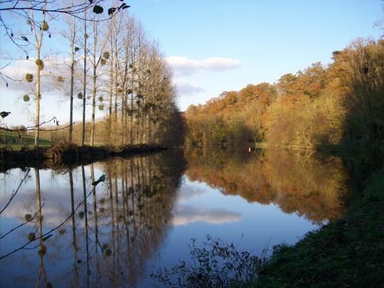 La Mayenne en automne