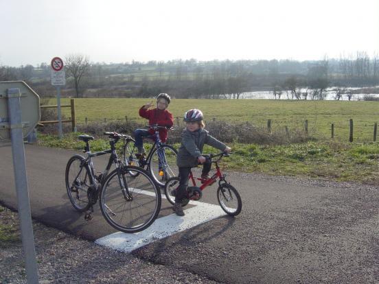 Enfants au stop
