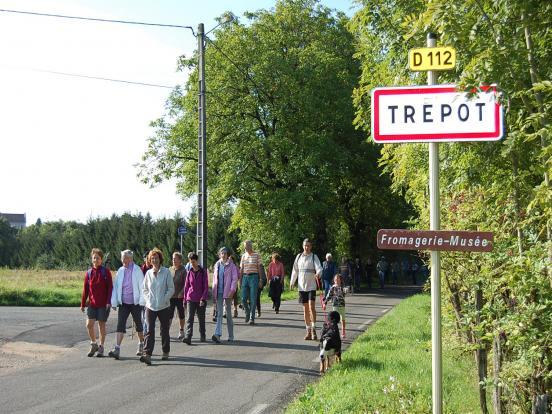 entrée du village de Trép