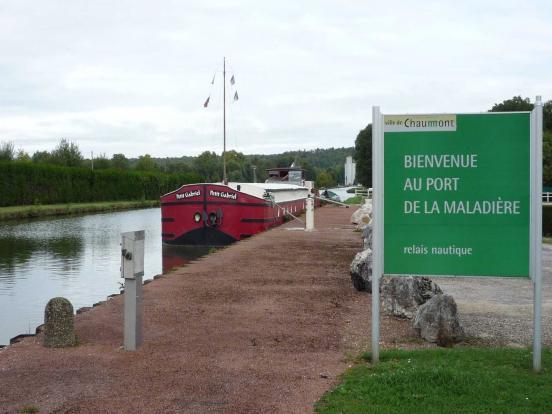 Le port de Chaumont