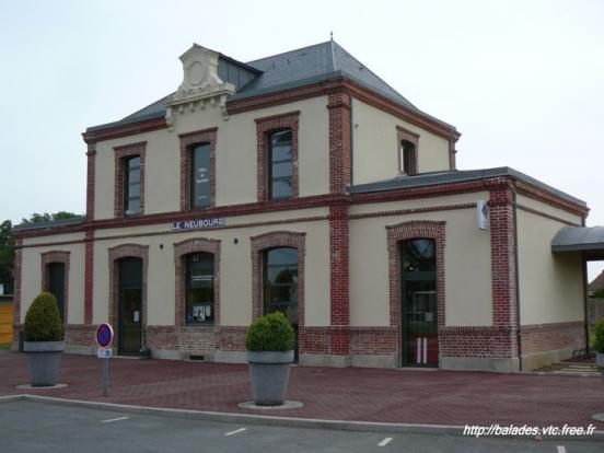 la gare du Neubourg