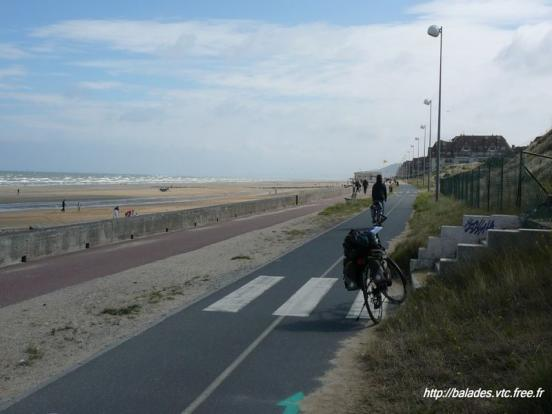 Cabourg - piste cyclable
