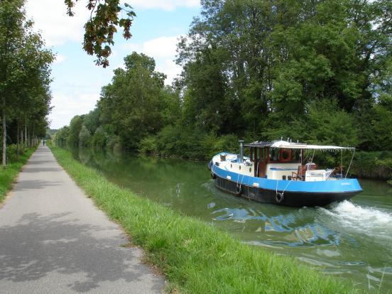 Baverans - le canal