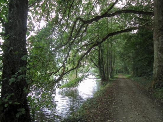 En suivant la Mayenne