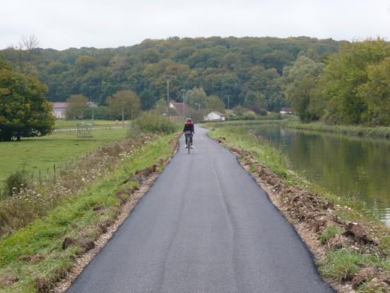 La vélo-route en beautée