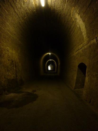 Tunnel Camon avec lumière