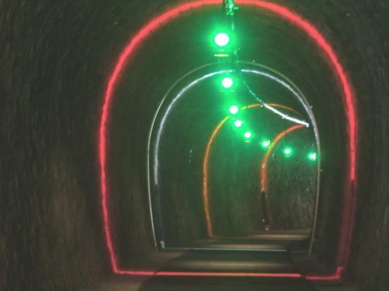 Eclairage des tunnels