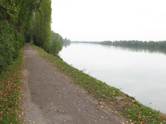 la Saône tranquille