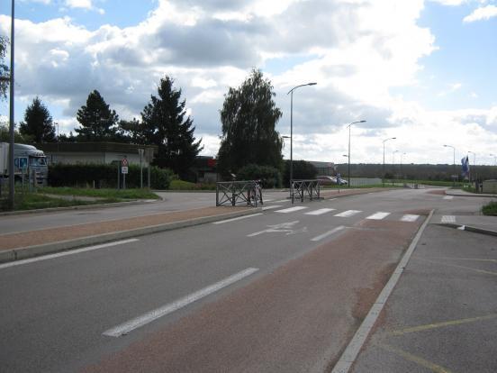 D68 à Châtenoy-le-Royal