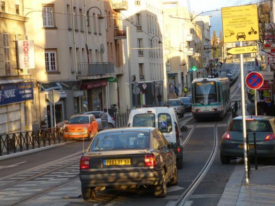 Avec le tram'