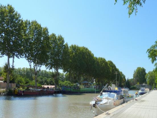 A vélo à Béziers