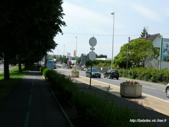 Vire - Piste cyclable