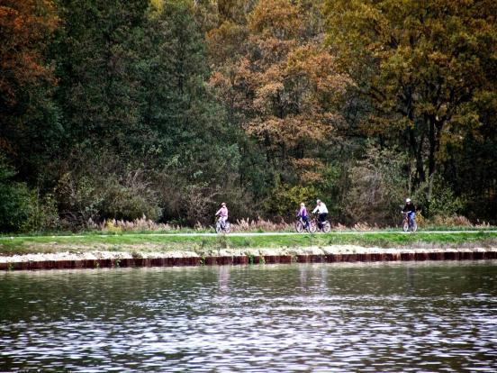 Entre canal et lac