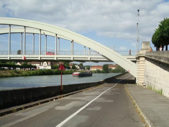 Le pont sur l'Oise de PSM