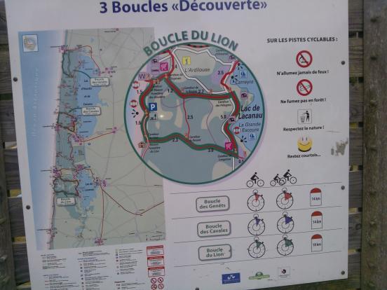 Boucles Lacanau