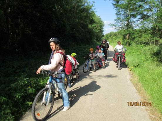 Portion de voie verte