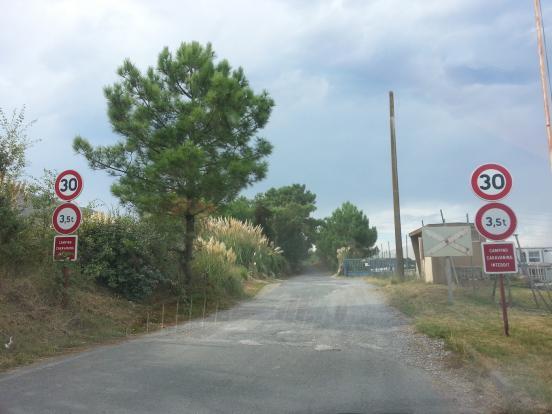 Vraie fausse piste, à Tarnos
