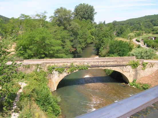 pont à Camon vu de la voi