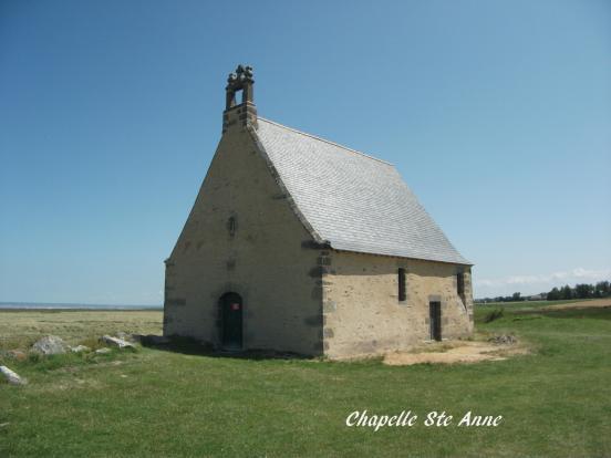 La chapelle Ste-Anne