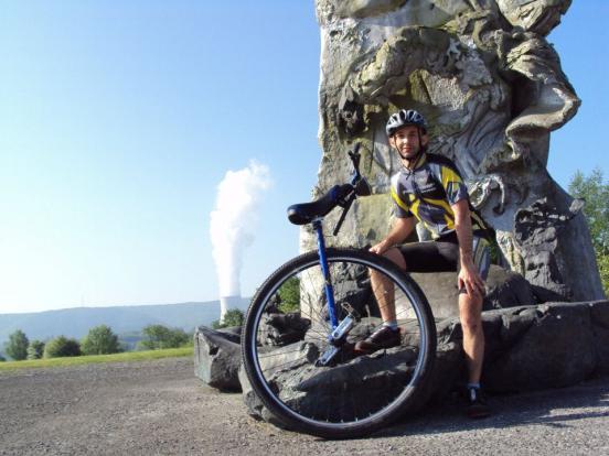 transardenne en monocycle